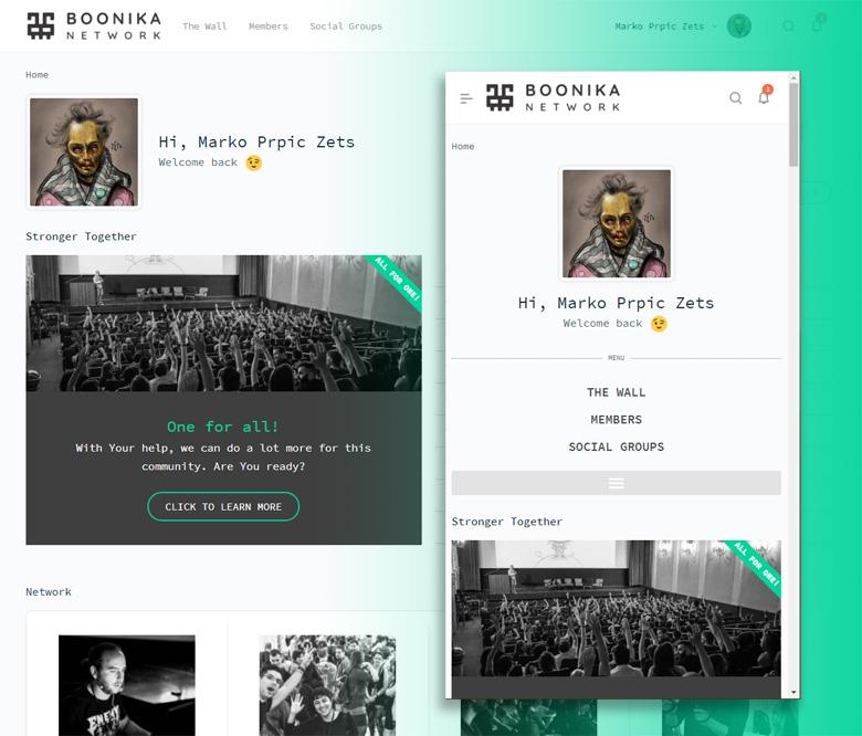 Boonika creative community