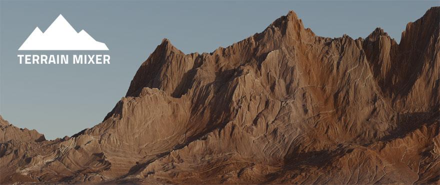 Terrain Mixer Boonika Featured Image Free Terrain Heightmaps